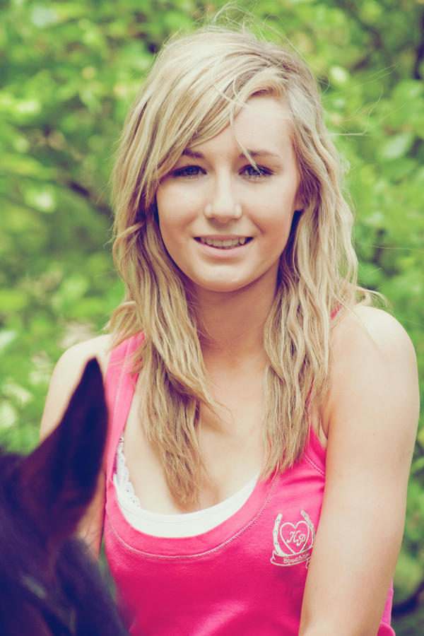 Pretty Blonde Teen Girl Stock Image Image Of Outside: Pretty Blonde Girl By Equinelovex On DeviantArt