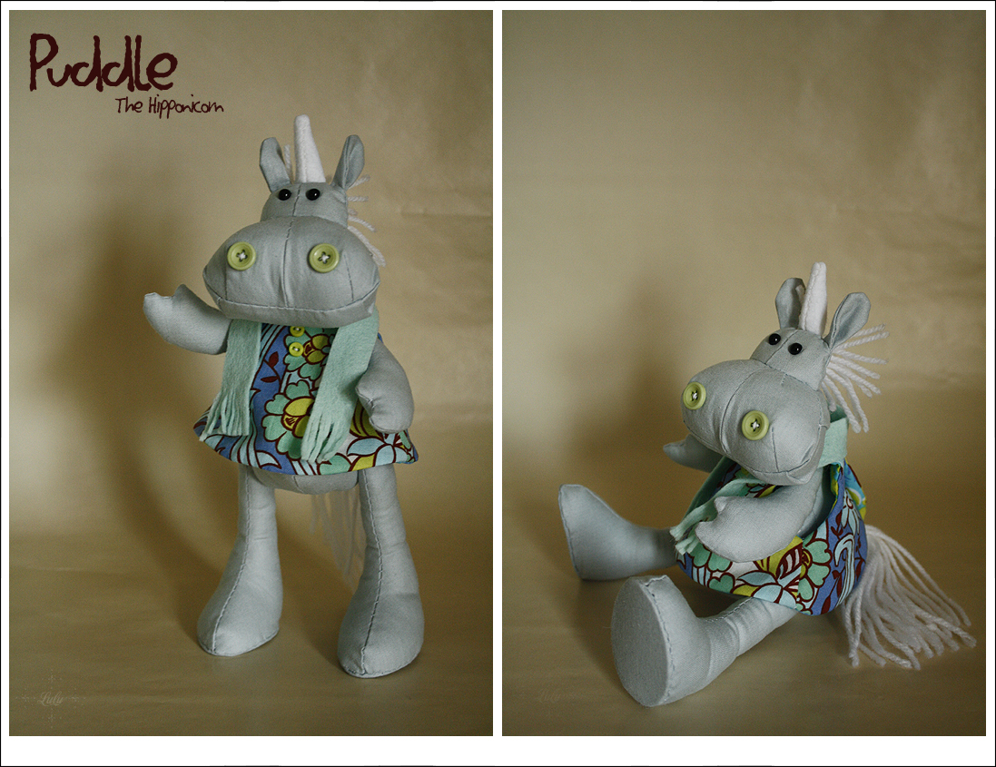 Puddle the Hipponicorn by lulufae