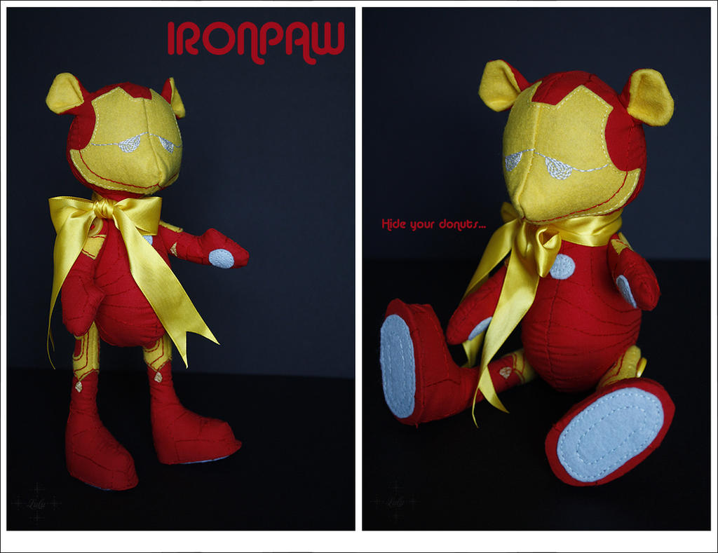 IRONPAW - Built in a cave from scraps by lulufae