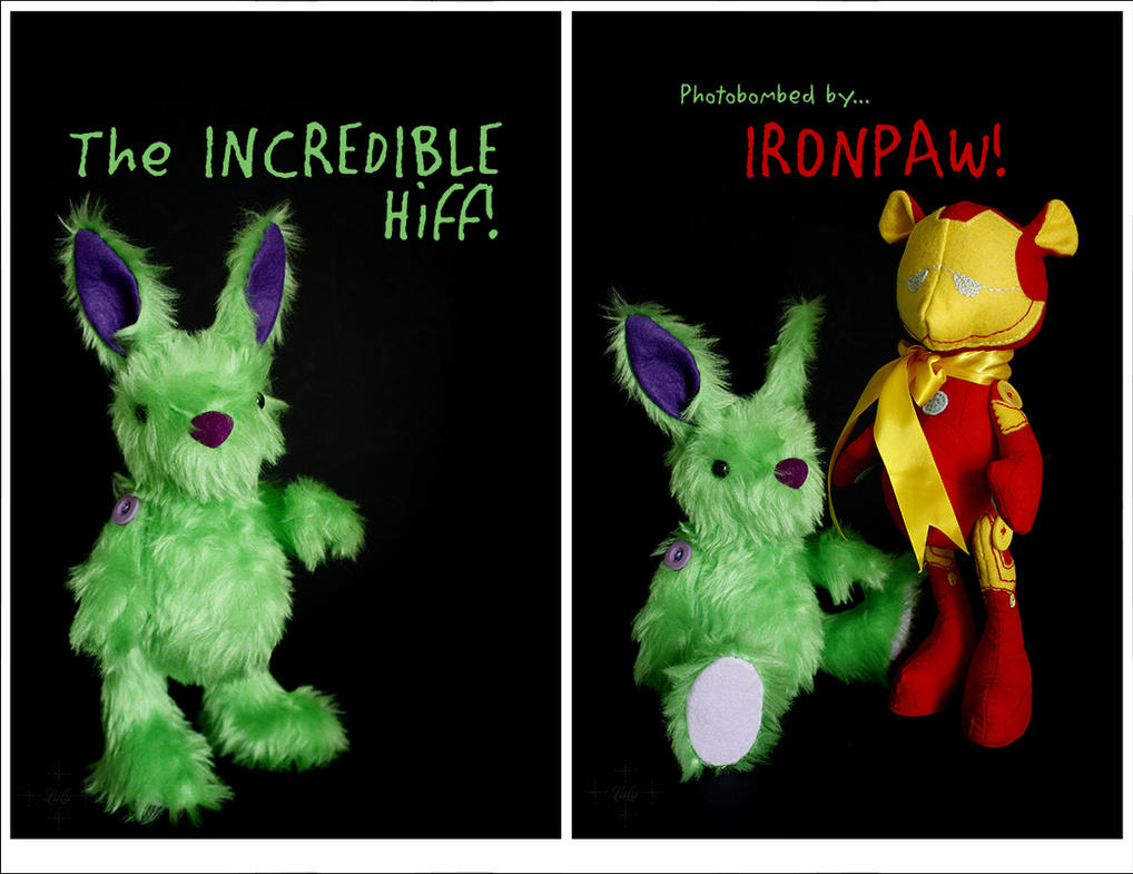 The Incredible HIFF! Also IronPaw. by lulufae