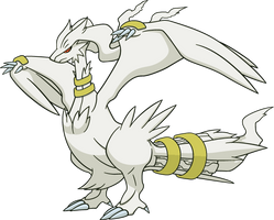 Shiny Reshiram: DreamWorld Art by Muums