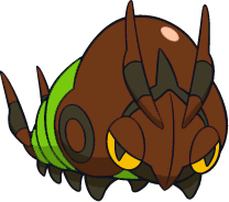 Shiny Venipede : DW Art