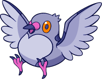 Shiny Pidove : DW Art