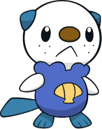 Shiny Oshawott : DW Art by Muums