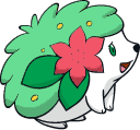 Shiny Shaymin : DW Art by Muums