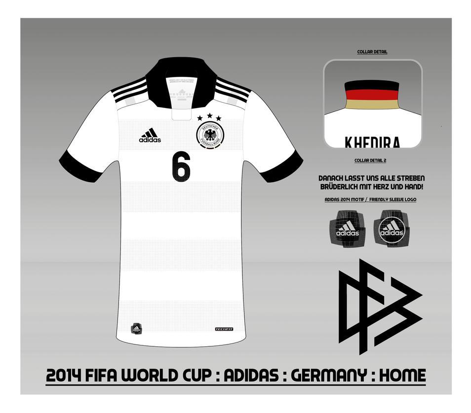 2014 Germany National Football Team Shirt : Home by Muums on DeviantArt
