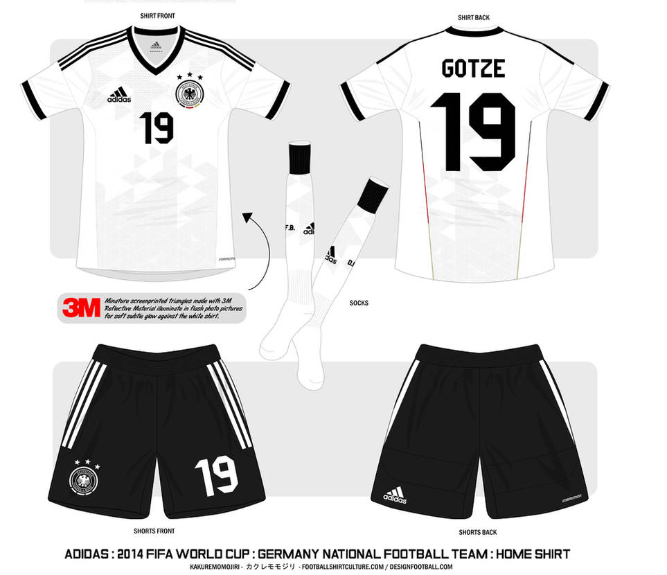hot sale online e621b eaaaf 2014 Germany National Football Team Shirt : Home by Muums on ...