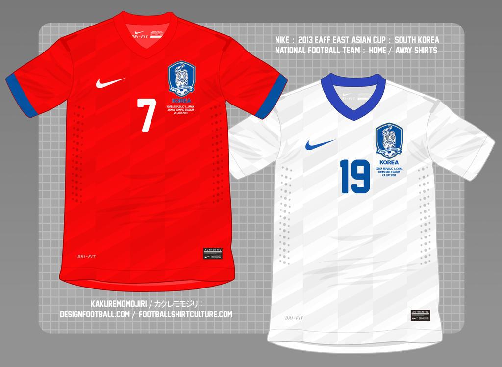 Nike 2013 2014 korea republic home shirt by muums on for Customize nike shirts online