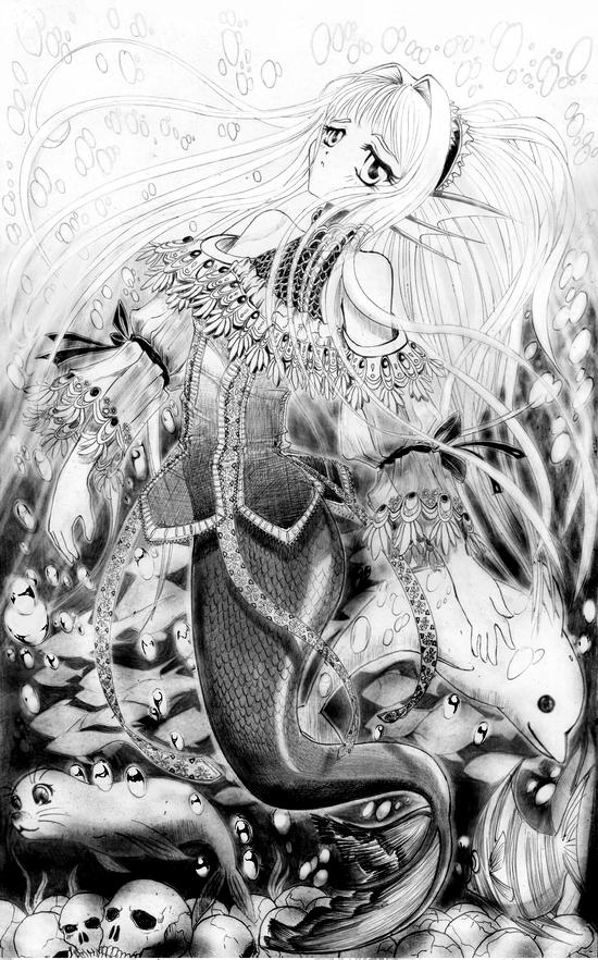 Mermaid by H3X4