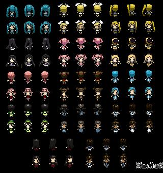 Pokemon Sinnoh - New Adventures • Registration Topic Female_characters__pokemon_sprites_by_xamechanx-d5tyehy
