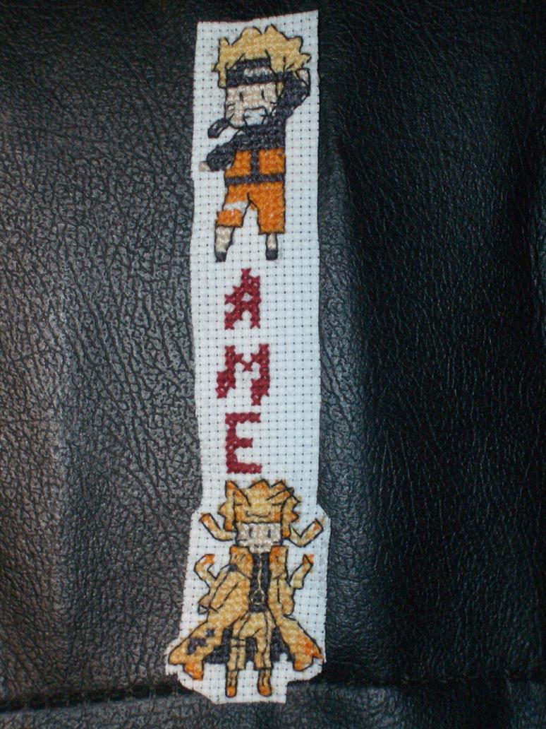 Naruto stitching by xAmeChanx