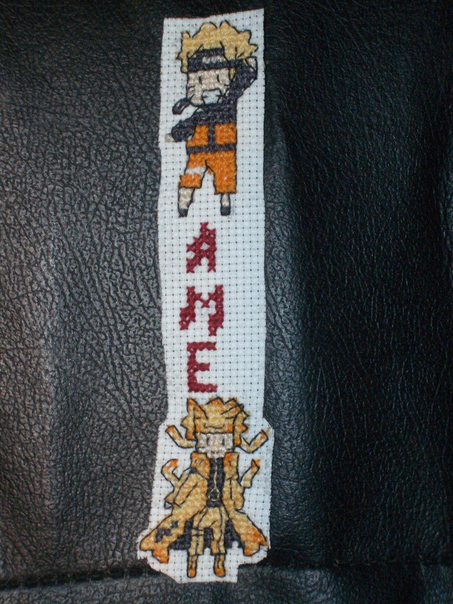Naruto stitching by xAmeChanx