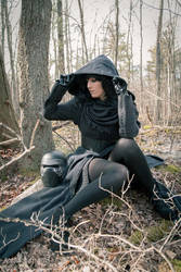 Fem Kylo Ren cosplay by MicroKittyCosplay