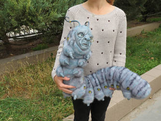 Caterpillar from Alice and Wonderland by Sukhanov