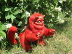 Red Cheshire Cat ( by Vladimir Sukhanov )