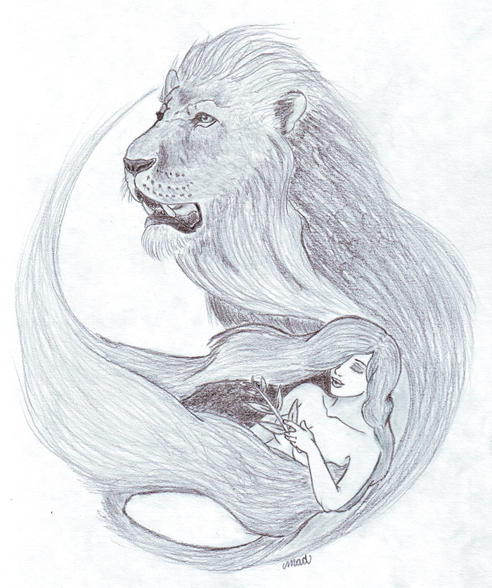 Leo+Virgo Tattoo Design by o0-Majestic-Wolf-0o