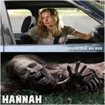 Hannah the walking dead