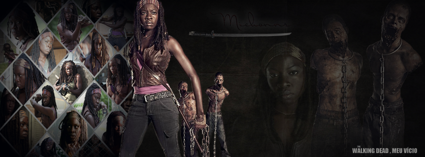 Michonne Capa Para Facebook The walking dead by twdmeuvicio