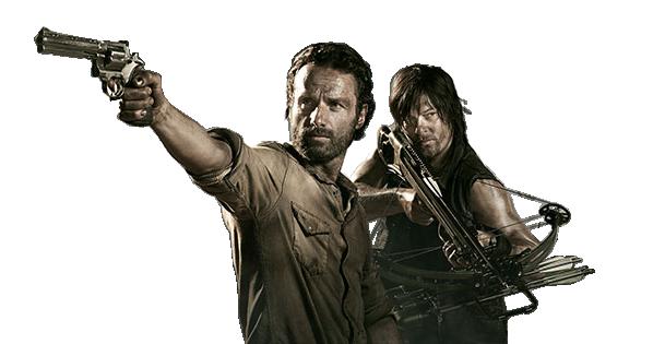 Render Rick e Daryl 4 temporada The Walking by twdmeuvicio ...