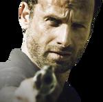 Rick the walking dead render