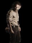 Rick season 4 The walking dead render