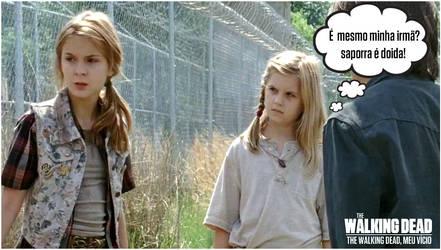 Lizzie e Mika The walking dead by twdmeuvicio