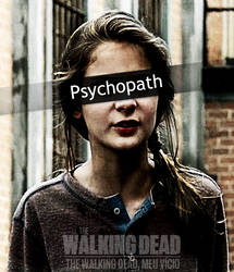 Lizzie psicopata The Walking Dead by twdmeuvicio