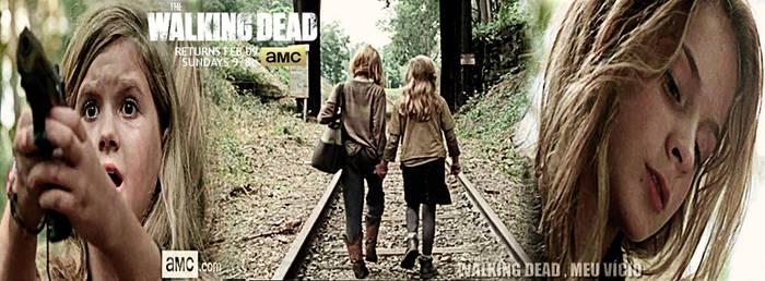 Mika e Lizzie Season 4 Capa para Facebook by twdmeuvicio
