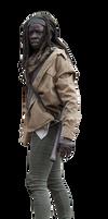 Michonne The walking dead Render