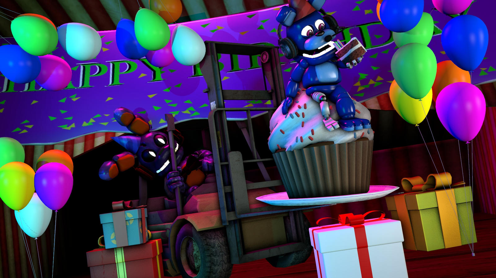 (SFM To TIM-idator) Happy Birthday Bro'!!! by Tayma2uky