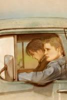 The Long Drive by maichan-art
