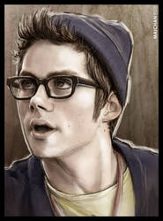 Dylan O'Brien in The Internship by maichan-art