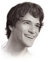 Tyler Posey as Scott McCall by maichan-art