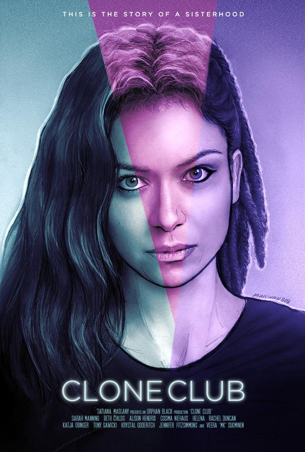Clone Club (Tatiana Maslany) by maichan-art