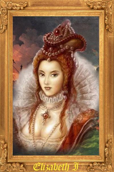 Elizabeth I by Apollonaris