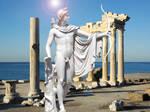 Apollo at the Temple of Apollo by Apollonaris
