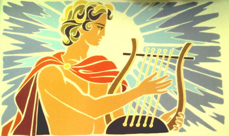 apollo and his lyre -#main