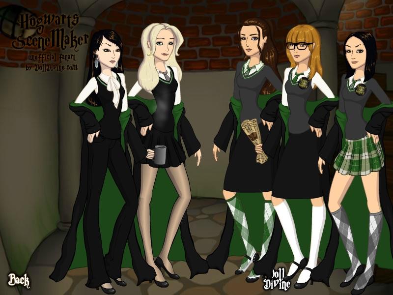 Harry Potter Slytherin Girls The Slytherin g...