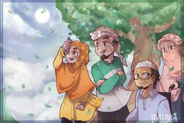 Hingga Saat Akhir (Contest entry) by Meloniffu