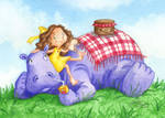 Picnic with my Hippo