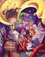 Nightime Superhero by Isynia-Artessa