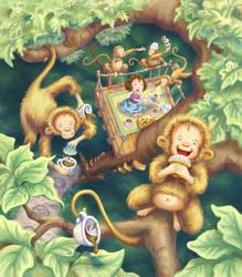 Olivia's Treehouse by Isynia-Artessa