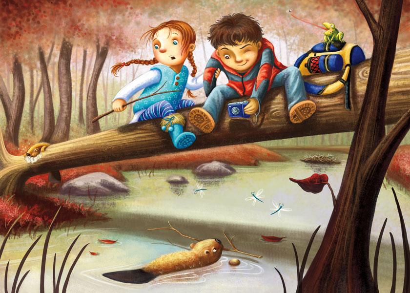 The Beaver Dam by Isynia-Artessa