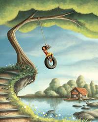 Tire Swing by Isynia-Artessa
