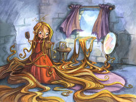 Let Down Your Hair by Isynia-Artessa