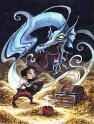 Djinni Serpent by Isynia-Artessa