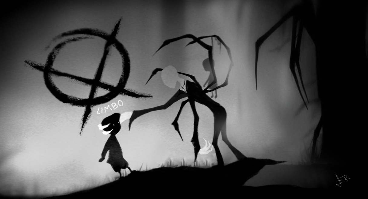 Limbo Crossover: The leader of the no face boys Slender Man