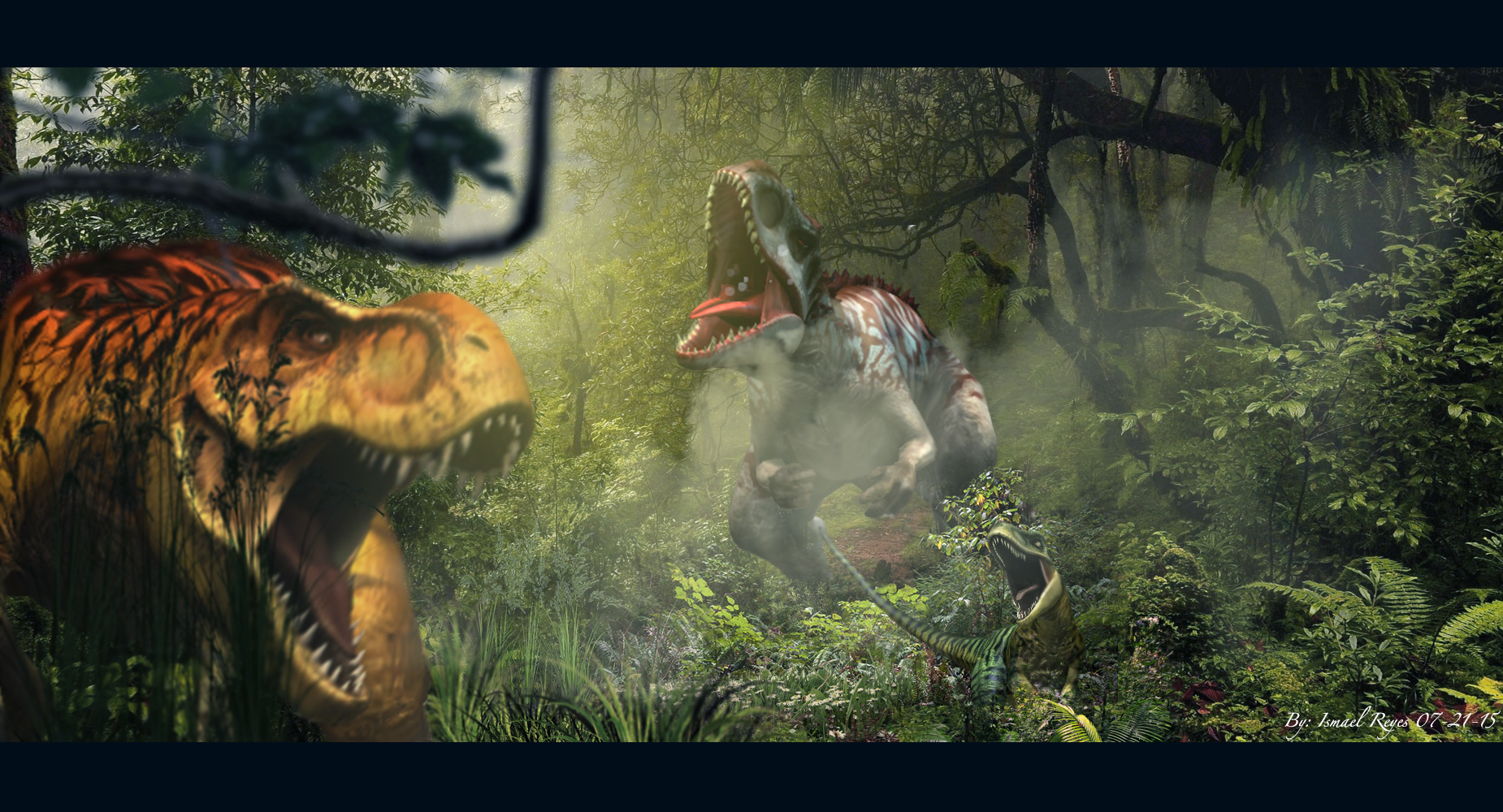Jurassic World The Game Wallpaper by IResARTS on DeviantArt