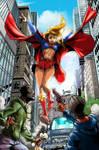 Super girl by NemafronSpain