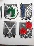 attack on titan corps emblems
